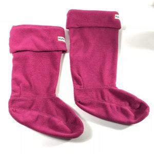 Hunter Hot pink socks